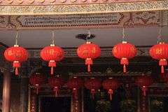 Chinese buddhist shrine stock images