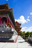 Chinese Buddhist temple Stock Photo