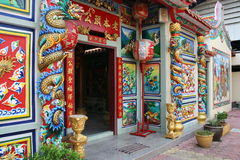 Chinese Buddhist temple, Bangkok, Thailand. Stock Photography