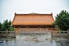 Chinese buddhist temple Royalty Free Stock Photography