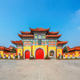 Chinese buddhist temple Stock Photography