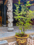 Chinese Buddhist Temple in Singapore. Detail of Chinese Buddhist Temple stock images