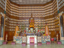 Chinese buddhist temple Royalty Free Stock Images