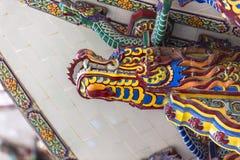 Chinese buddhist temple wall at Supasarnrangsan Road Hat Yai Songkhla  Thailand. Chinese buddhist temple wall at Supasarnrangsan Road Hat Yai Songkhla Thailand Royalty Free Stock Image