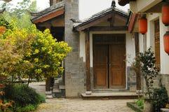 Chinese building. Lijiang yunnan china Stock Photo