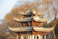 Chinese building Stock Photos