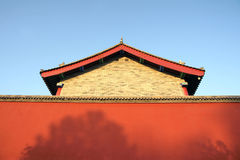Chinese building Royalty Free Stock Image