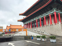 A Chinese building at main square in Taipei, Taiwan Stock Photography