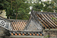 Chinese building roof Royalty Free Stock Images
