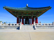 Chinese building. Very beautiful chinese-style architectural structure near Los Angeles, California, USA Royalty Free Stock Images