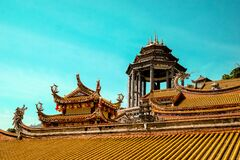 Chinese buildings Royalty Free Stock Image