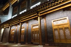 Chinese buildings in Hohhot Stock Photo