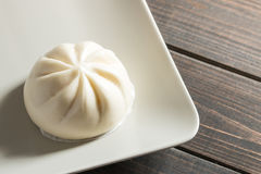 Chinese bun. For breakfast usually Royalty Free Stock Photo