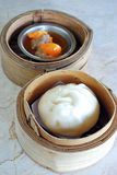 Chinese bun Royalty Free Stock Images