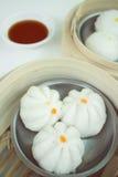 Chinese bun - dim sum Royalty Free Stock Image