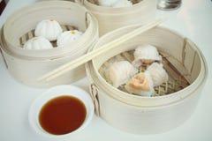 Chinese bun - dim sum Stock Photography