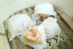 Chinese bun - dim sum Stock Photos