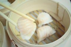 Chinese bun - dim sum Stock Images