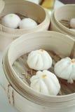 Chinese bun - dim sum Royalty Free Stock Photo