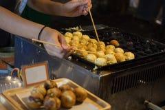 Chinese bun fried dumpling Stock Photo