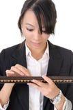 Chinese business woman Stock Photo