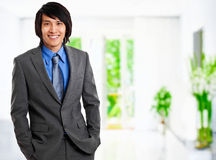 Chinese businessman protrait Stock Images
