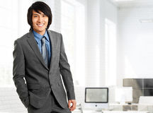 Chinese businessman protrait Royalty Free Stock Photo