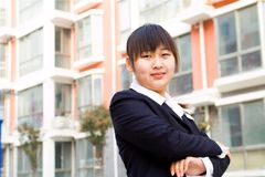 Chinese businesswoman Royalty Free Stock Photography