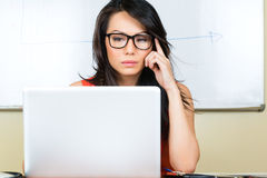 Chinese Businesswoman in creative business agency Stock Photos