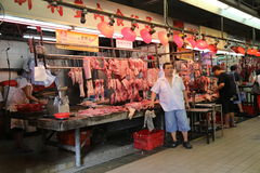 Chinese Butcher Stock Images