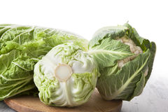 Chinese cabbage and cauliflower. Stock Photography
