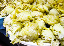 Chinese cabbage pickled Stock Photo
