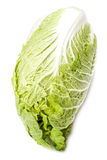 Chinese cabbage on a white background. Stock Image