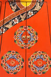 Chinese cabinet door Royalty Free Stock Image
