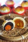 Chinese cake. With egg yolk inside Stock Image
