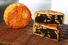 Chinese cake, moon cake Stock Photography