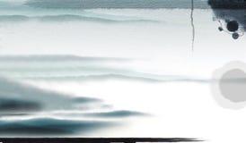 Chinese Calligraphy brush Stock Photo