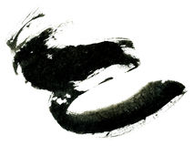 Chinese Calligraphy brush Royalty Free Stock Photography