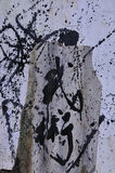 Chinese Calligraphy - Martial Arts Stock Photography