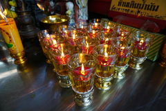 Chinese candle light Royalty Free Stock Photos