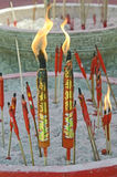 Chinese candle stick Stock Photo