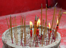 Chinese candles Stock Images