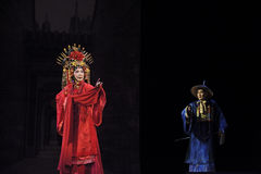 Chinese Cantonese opera actor Stock Photography