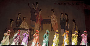 Chinese Cantonese opera actress Stock Photography