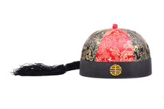 Chinese cap Royalty Free Stock Images