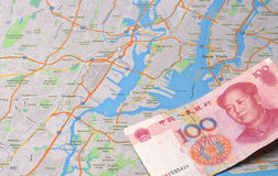 Chinese capital into NewYork Royalty Free Stock Photography