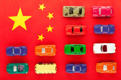 Chinese car industry (1) Stock Photos