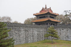 Chinese castle tower Royalty Free Stock Photos