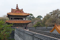 Chinese castle tower Royalty Free Stock Photo