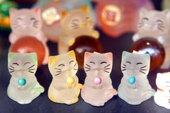 Chinese cats Royalty Free Stock Photos